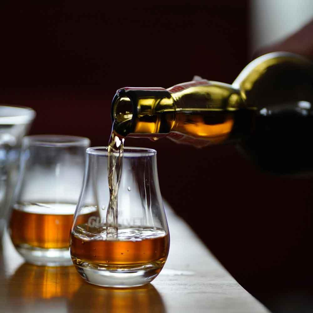 Whiskeytasting im Restaurant Braunschweig