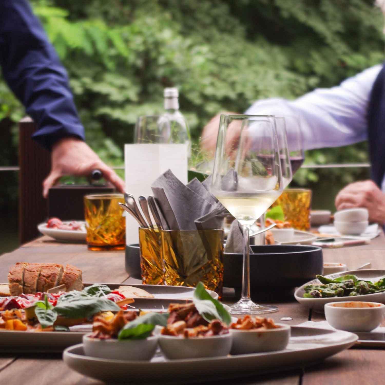 StegHaus Braunschweig | Restaurant | Bar | Okerterrasse